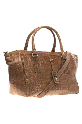 BROWN DOCTOR BAG KENNETH - LAZARO