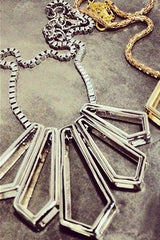 KARL Necklace - CUATRO MUSAS - MeMata  - 2