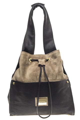 BLACK VENTURI NAVAL BAG - LAZARO