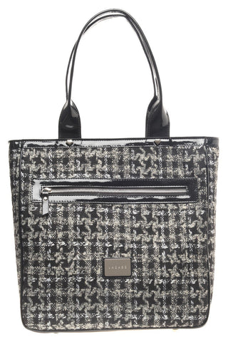 TWEED SHOPPING BAG - LAZARO