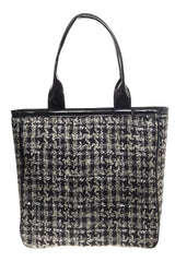TWEED SHOPPING BAG - LAZARO - MeMata  - 4