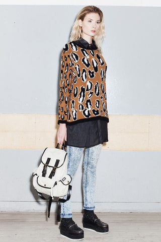 ANIMAL SWEATER - VESTITE Y ANDATE