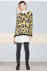 ANIMAL SWEATER - VESTITE Y ANDATE - MeMata  - 2