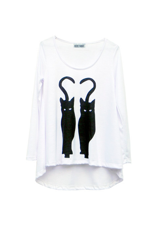 BLACK CATS T-SHIRT - VESTITE Y ANDATE