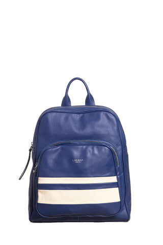 BLUE MALABAR BACKPACK - LAZARO CUERO