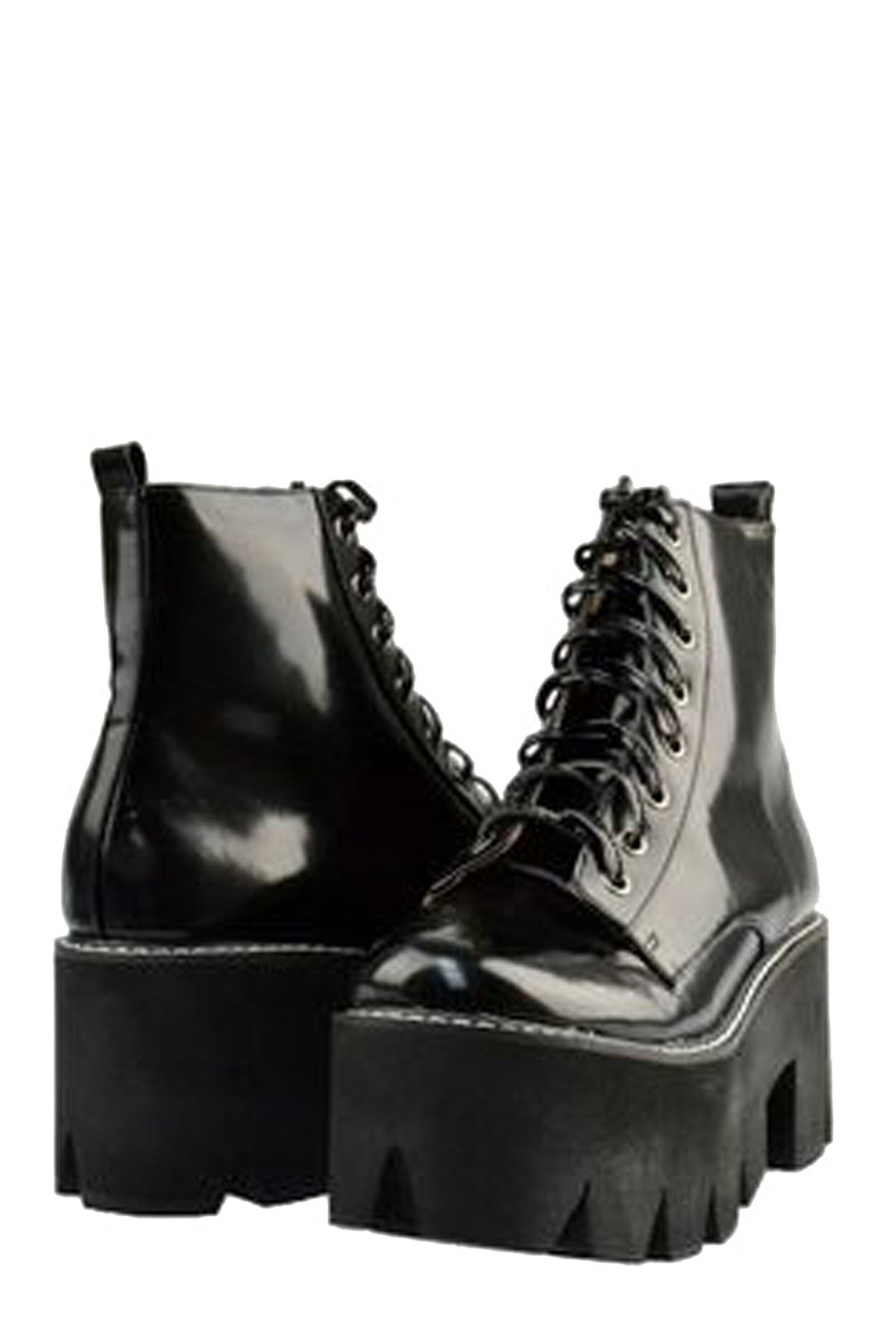 MICHIGAN LACE-UP COMBAT BOOT - MeMata  - 3