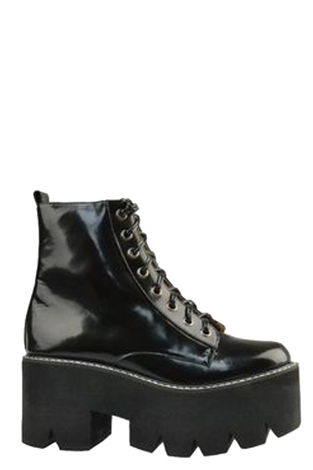 MICHIGAN LACE-UP COMBAT BOOT - MeMata  - 1