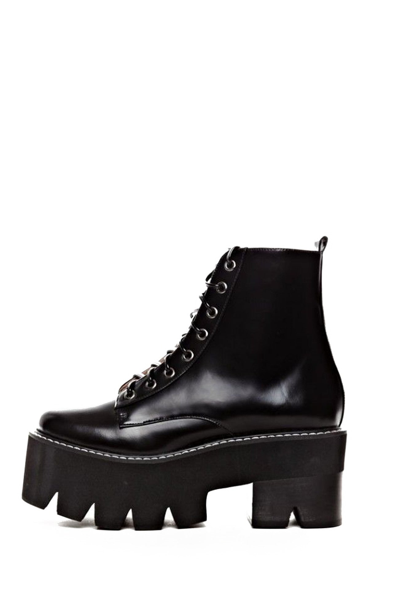 MICHIGAN LACE-UP COMBAT BOOT - MeMata  - 2