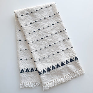 nordic trees hand & face towel / tablerunner