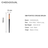 CHEEKDOURL 06#POINTED CREASE BRUSH