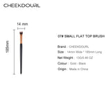CHEEKDOURL 07#SMALL FLAT TOP BRUSH