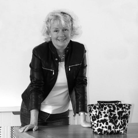Joanna Umpleby proprietor of Umpie Handbags