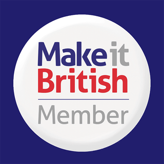 Make it British Logo. All Of Our Designer Fabric Handbags Are Made In Britain.