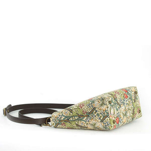 Base view of William Morris Golden Lily Crossbody Bag