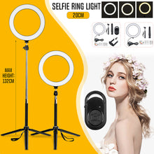 Load image in gallery viewer, Led selfie ring light kits