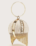 Gold Cinderella Clutch