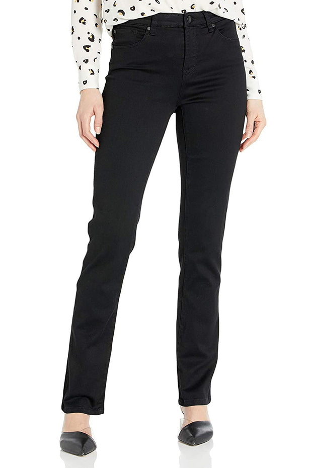 Tribal Straight Leg Jean Black