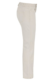 Tribal Straight Leg Jean Bone
