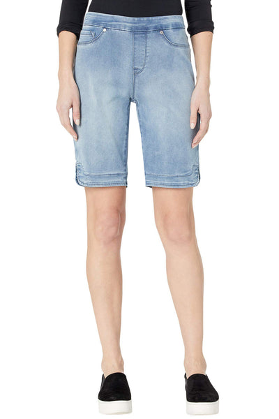 Pull On Denim Bermuda Short