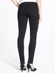 Ethyl Black French Terry Skinny Jean