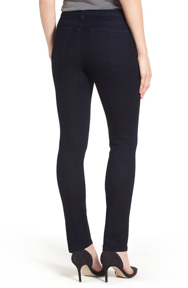 Ethyl French Terry Skinny Jean Dark Wash