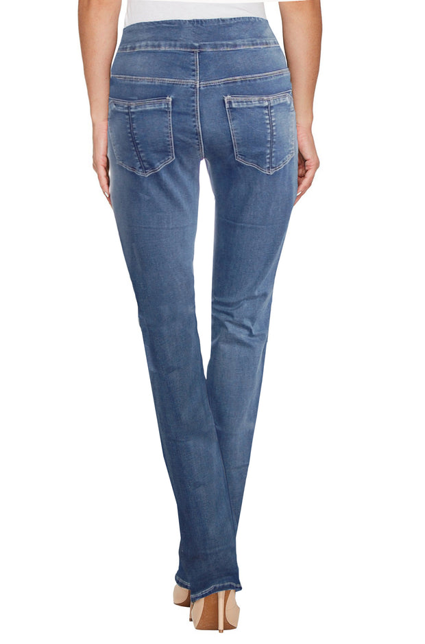 Ethyl Miriam Pull On Jean Light Wash