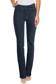 Ethyl Miriam Pull On Jean Dark Wash