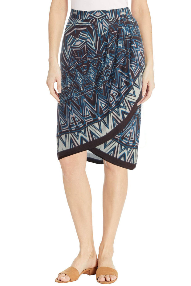 Faux Wrap Skirt - Final Sale