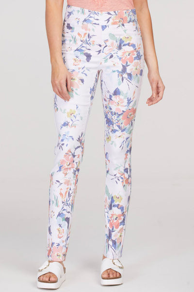 Floral Twill Jegging