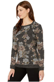 Floral Sweatshirt - Final Sale