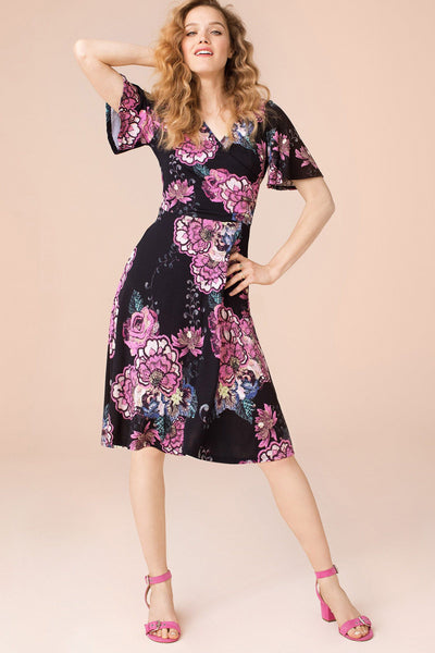 Flutter Sleeve Dress - Final Sale