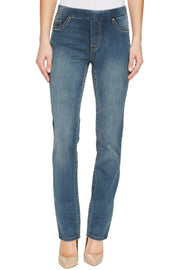 Brooke High Rise Pull On Jean Medium Wash