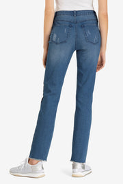 Side Stripe Ankle Jean