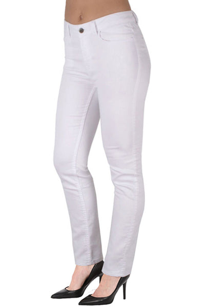 Ethyl French Terry Skinny Jean White