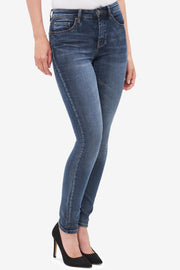Tribal Knit Denim Jegging