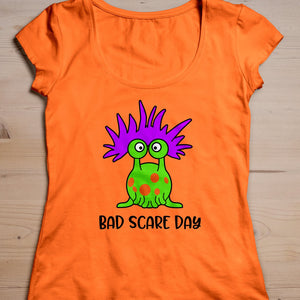 HALLOWEEN CUT FILE, Bad Scare Day SVG File, Funny Halloween SVG, SVG Files for Cricut