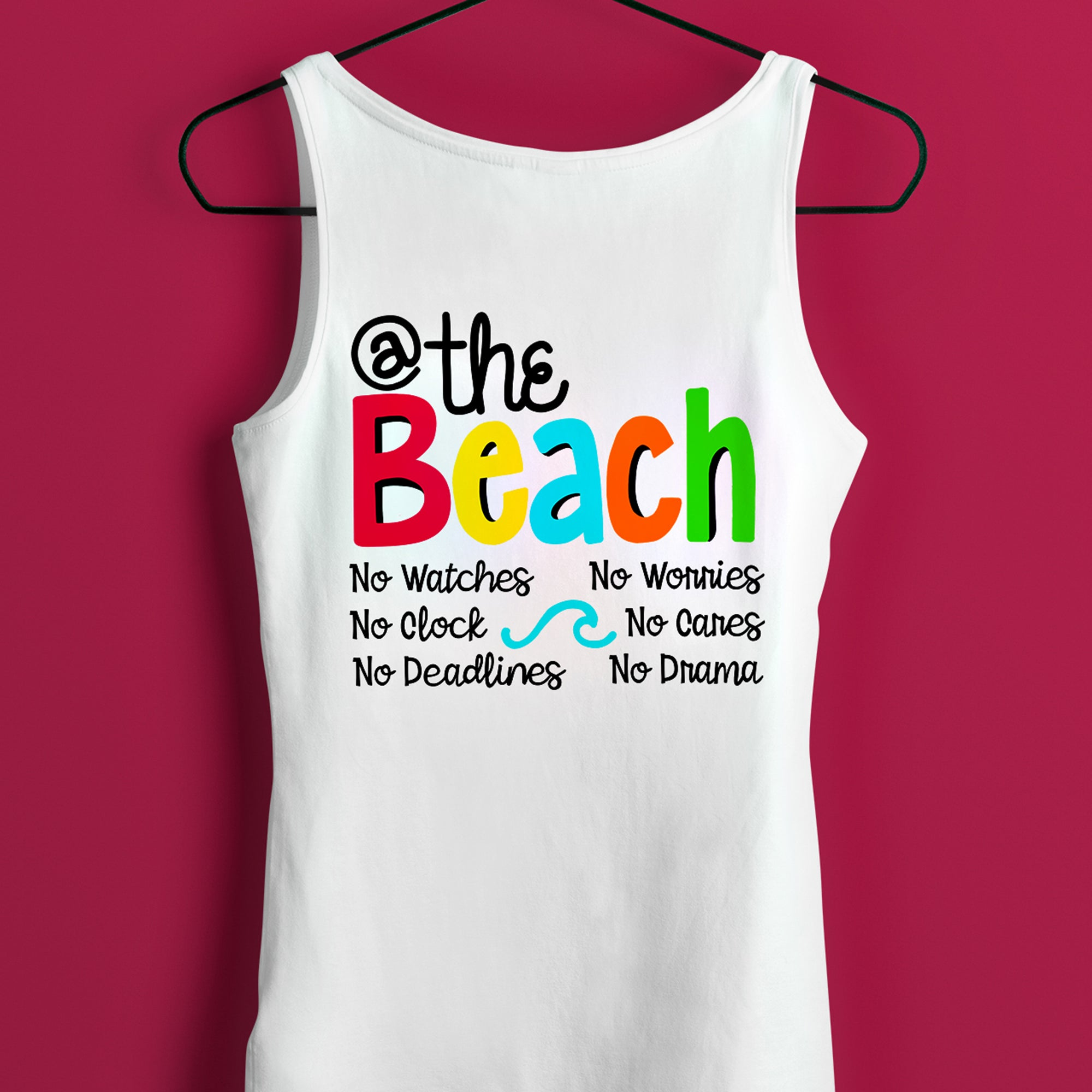 At the Beach SVG File, Beach SVG, Beach Saying SVG, Beach Quote SVG, Beach Shirt SVG, Vinyl Sayings Beach