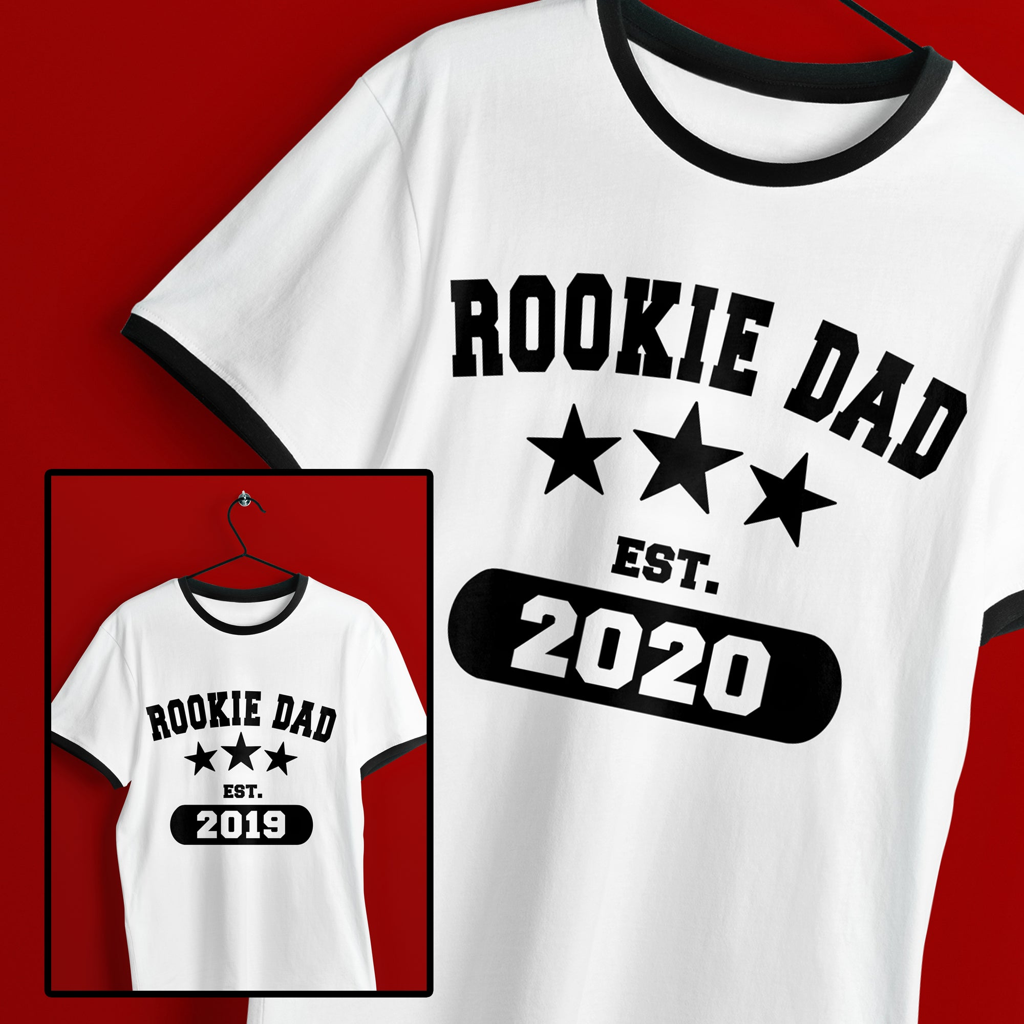 New Dad SVG File, Dad SVG, Father's Day SVG Cut File, New Dad Shirt SVG, Rookie Dad SVG Cut File, Dad Established SVG Cut File