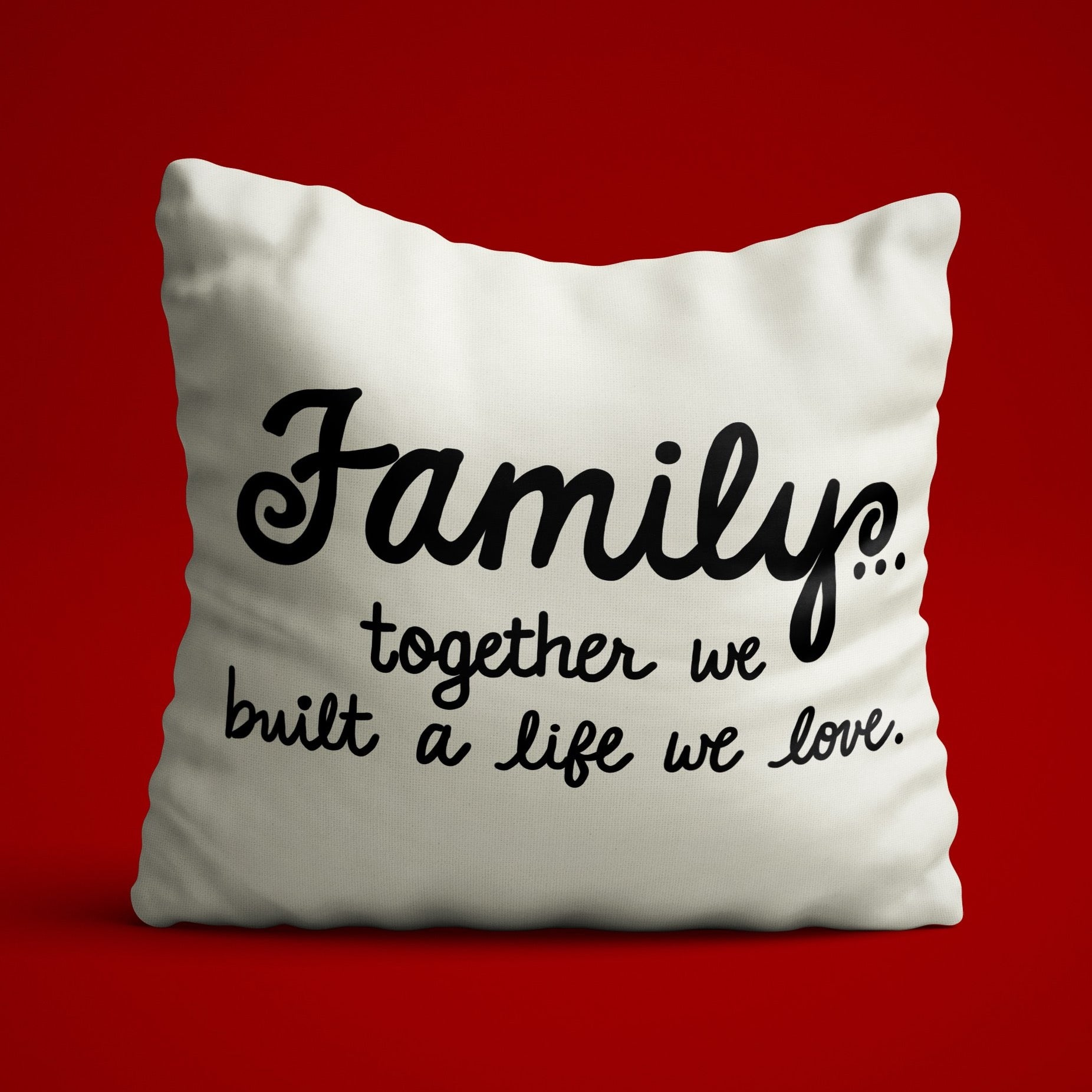 Family Quote SVG File, Family Saying SVG, Together We Built a Life We Love SVG, Wood Sign Svg, Svg File Quote for Cricut