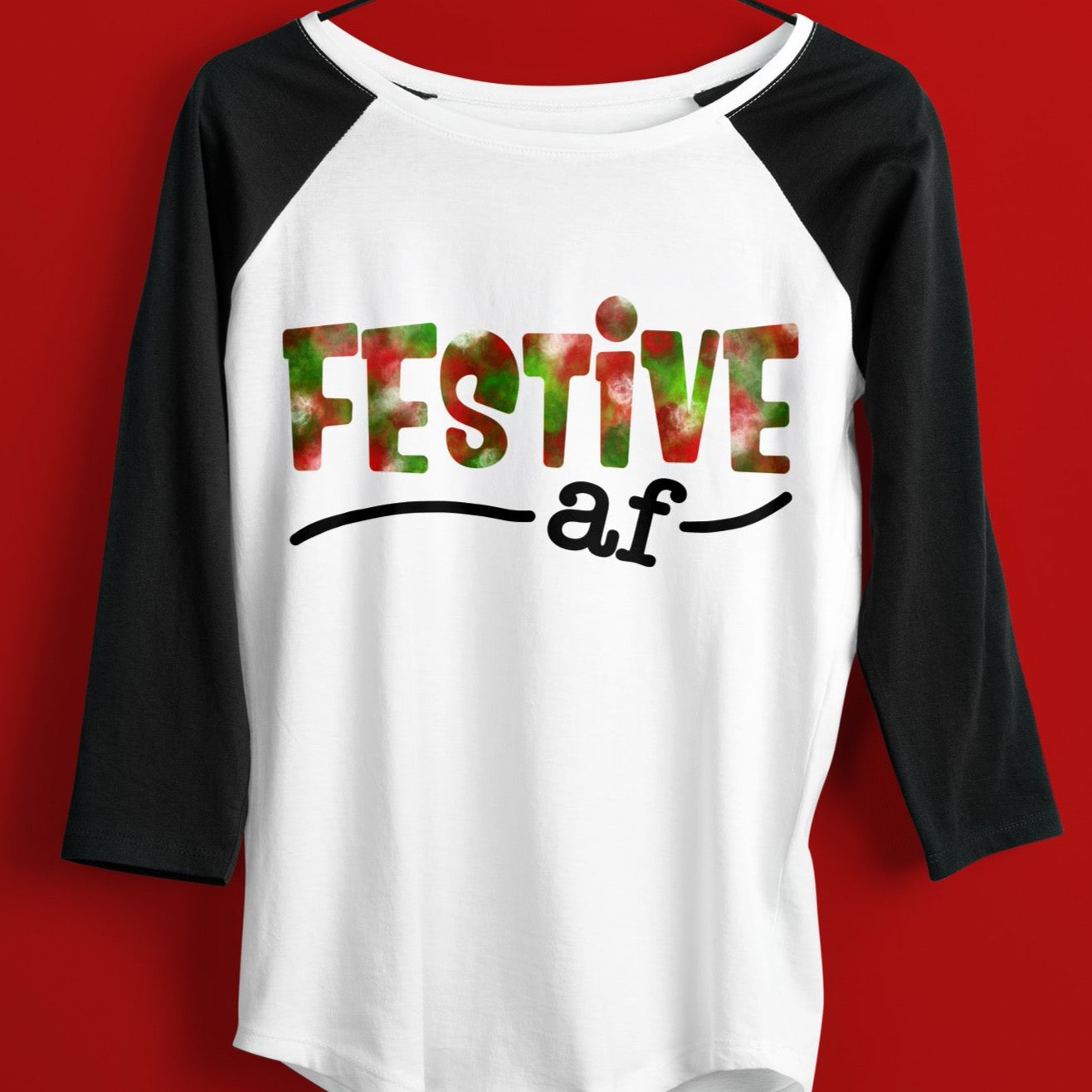 Festive AF Sublimation File, Funny AF Sublimation Design, Christmas Sublimation Digital Download, Sublimation Design Christmas