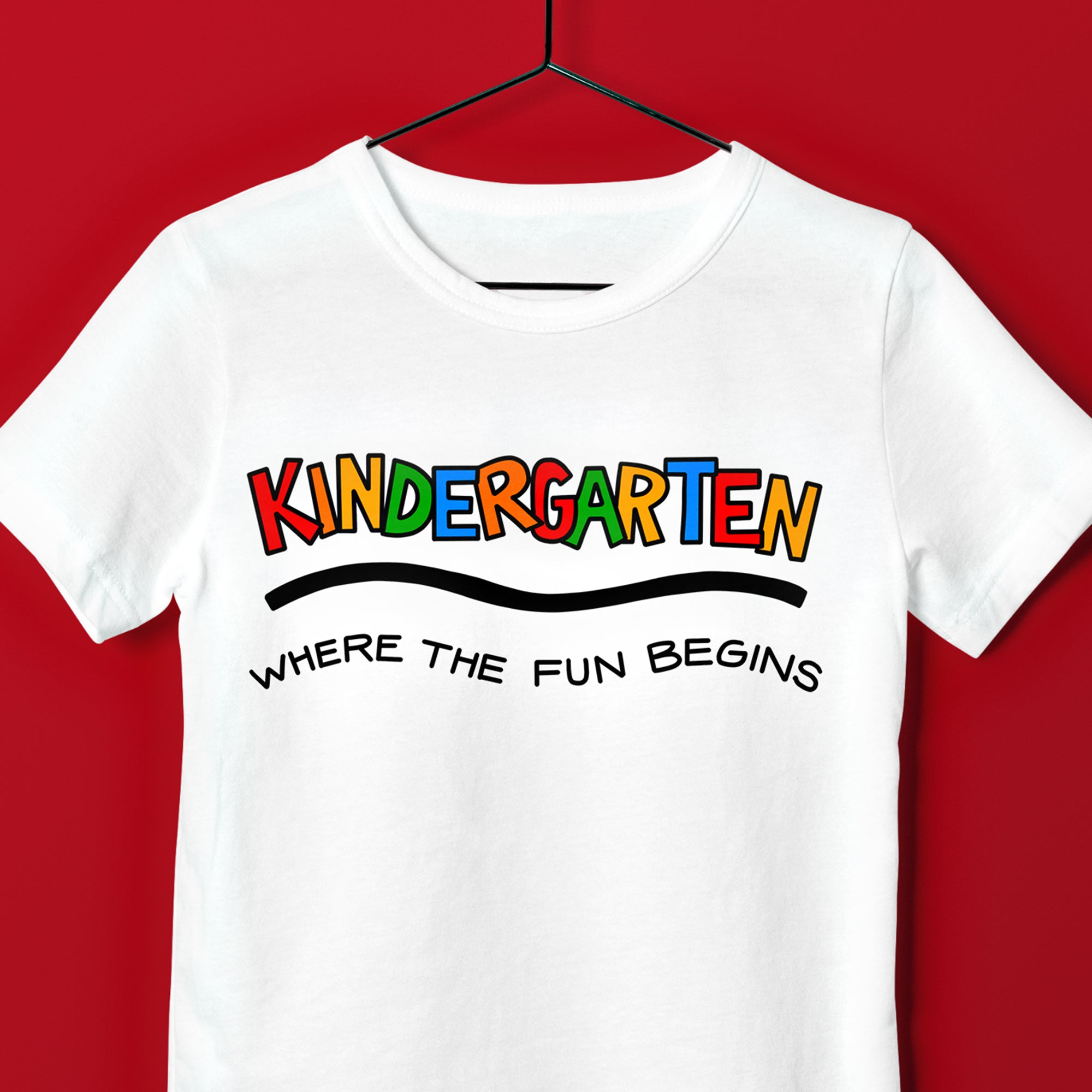 Cute Kindergarten SVG, Kindergarten SVG File, First Day of Kindergarten Shirt SVG File Design, Kindergarten Saying SVG, Kindergarten Quote SVG
