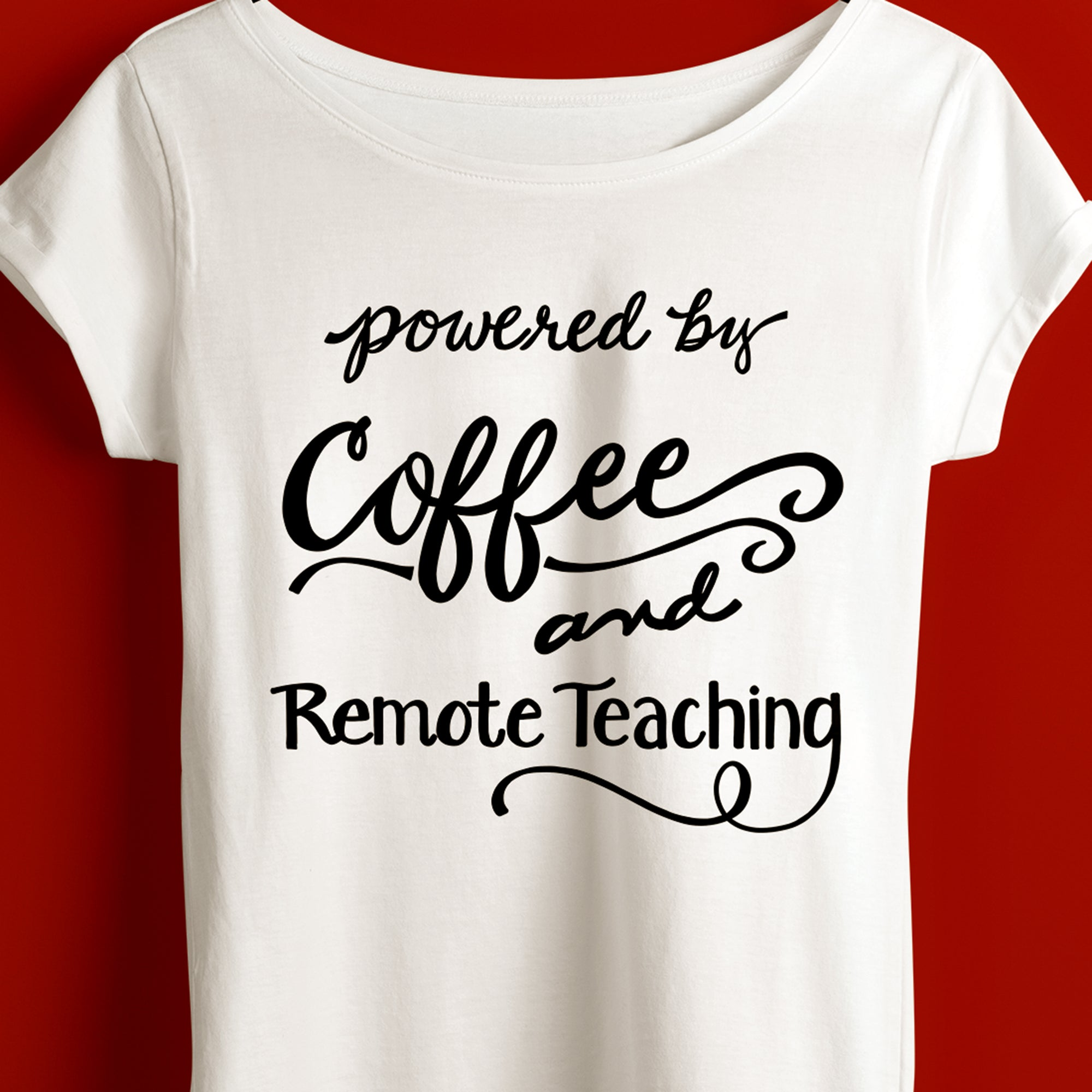Funny Teacher Saying SVG File, Teacher Shirt 2020 SVG, Virtual Teaching SVG File, Remote Teacher SVG