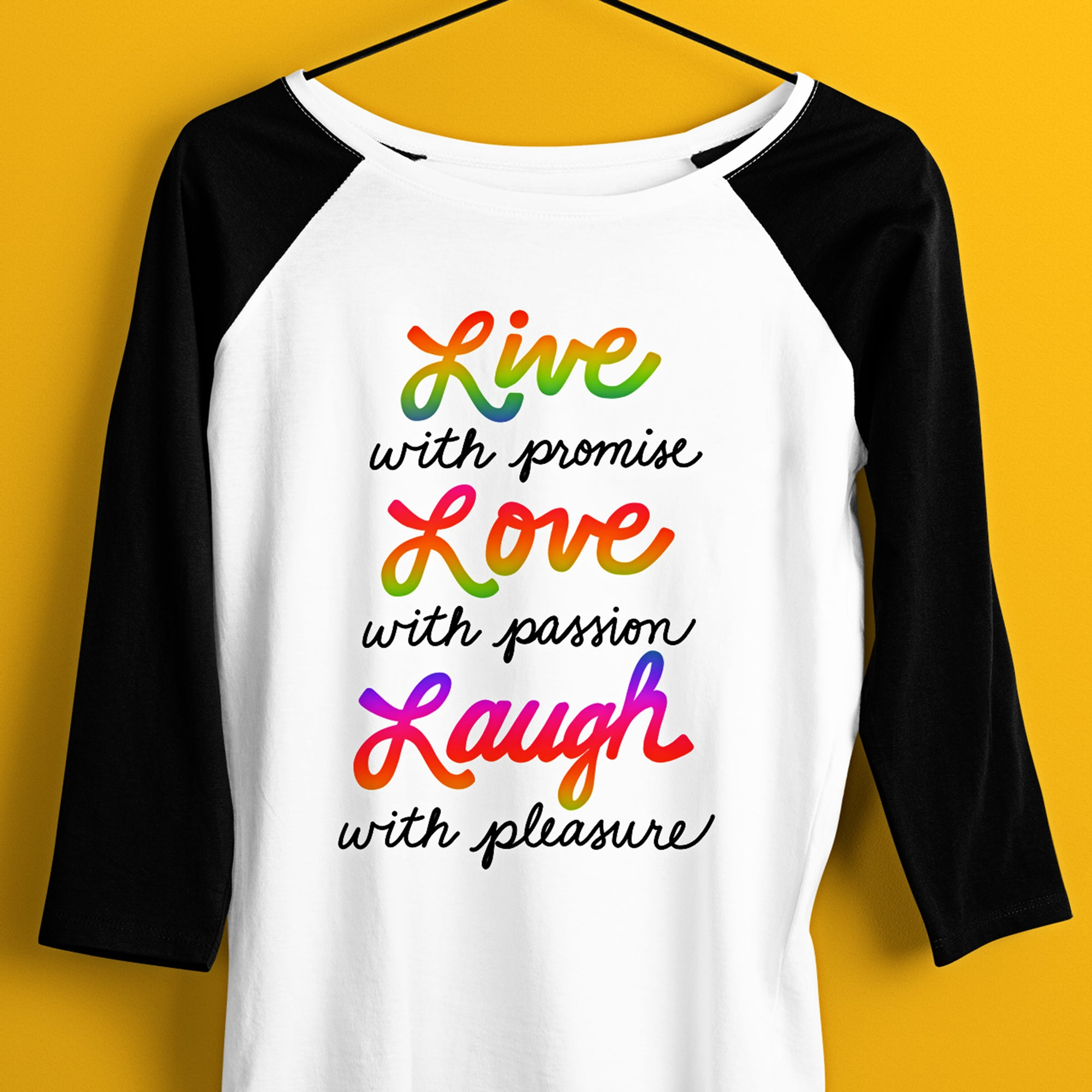 Live Love Laugh Sublimation Design, Inspirational Quote Sublimation Digital Download, Rainbow Tie Dye Sublimation File, Inspirational Quote PNG File, DTG Print Download