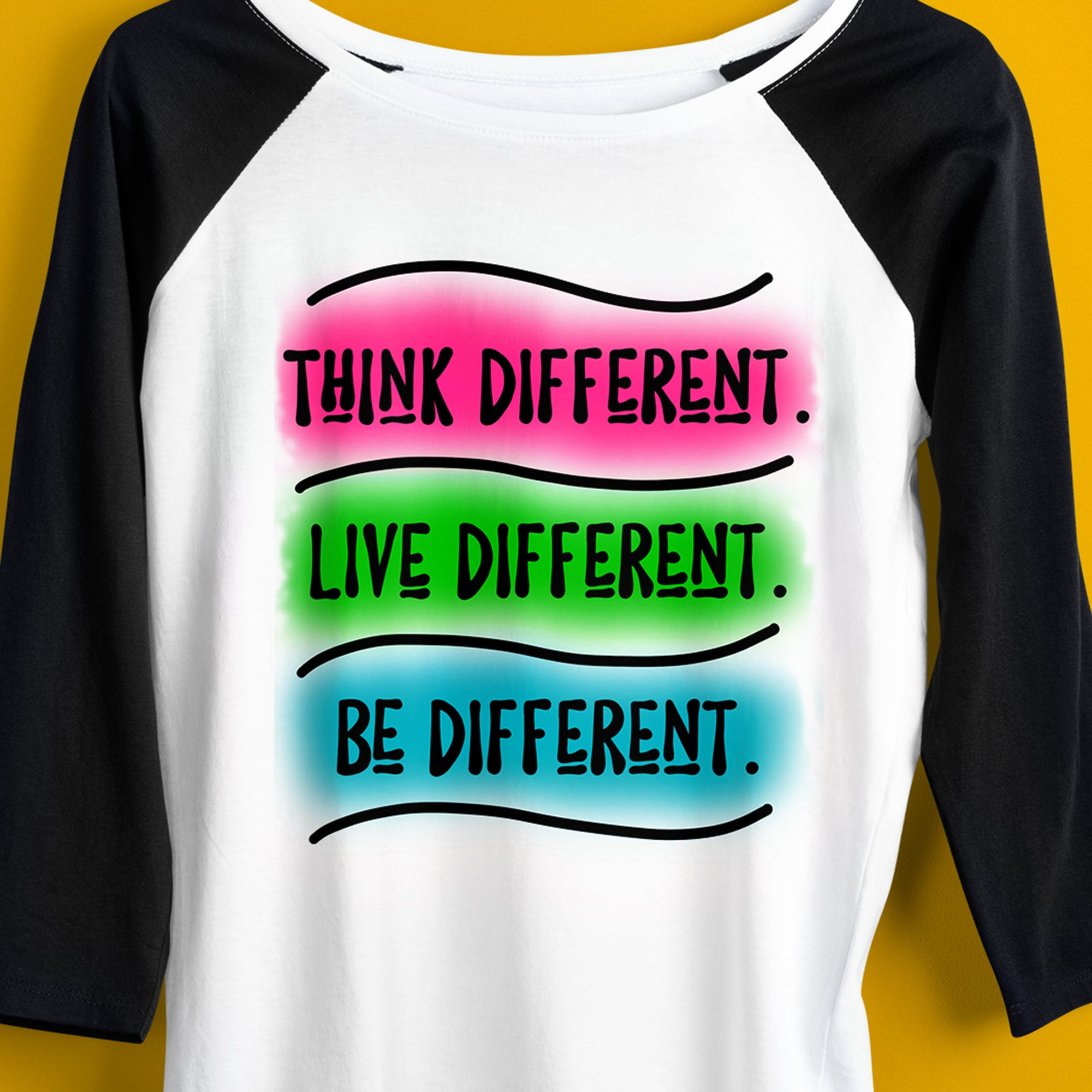 Think Different Be Different Sublimation Design, Black Lives Matter Movement Sublimation Design File, BLM Sublimation Digital Download, BLM DTG Design File