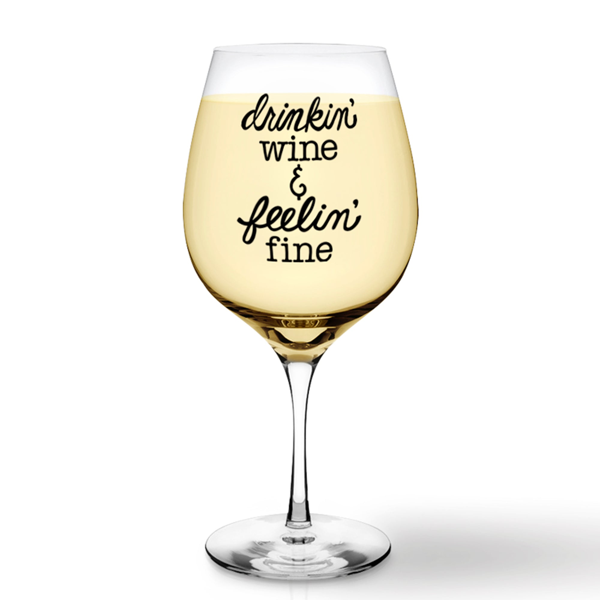 Drinkin' Wine SVG File Saying, Funny Wine Glass SVG, Wine Glass SVG Cut File, Wine Glass Cutting File, Wine SVG Files for Cricut