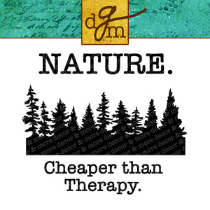 Funny Camping Quote SVG File, Camping Saying SVG, Funny Nature SVG File, Funny Nature Therapy SVG, Trees SVG File, Camping Cut File, Nature Cutting File