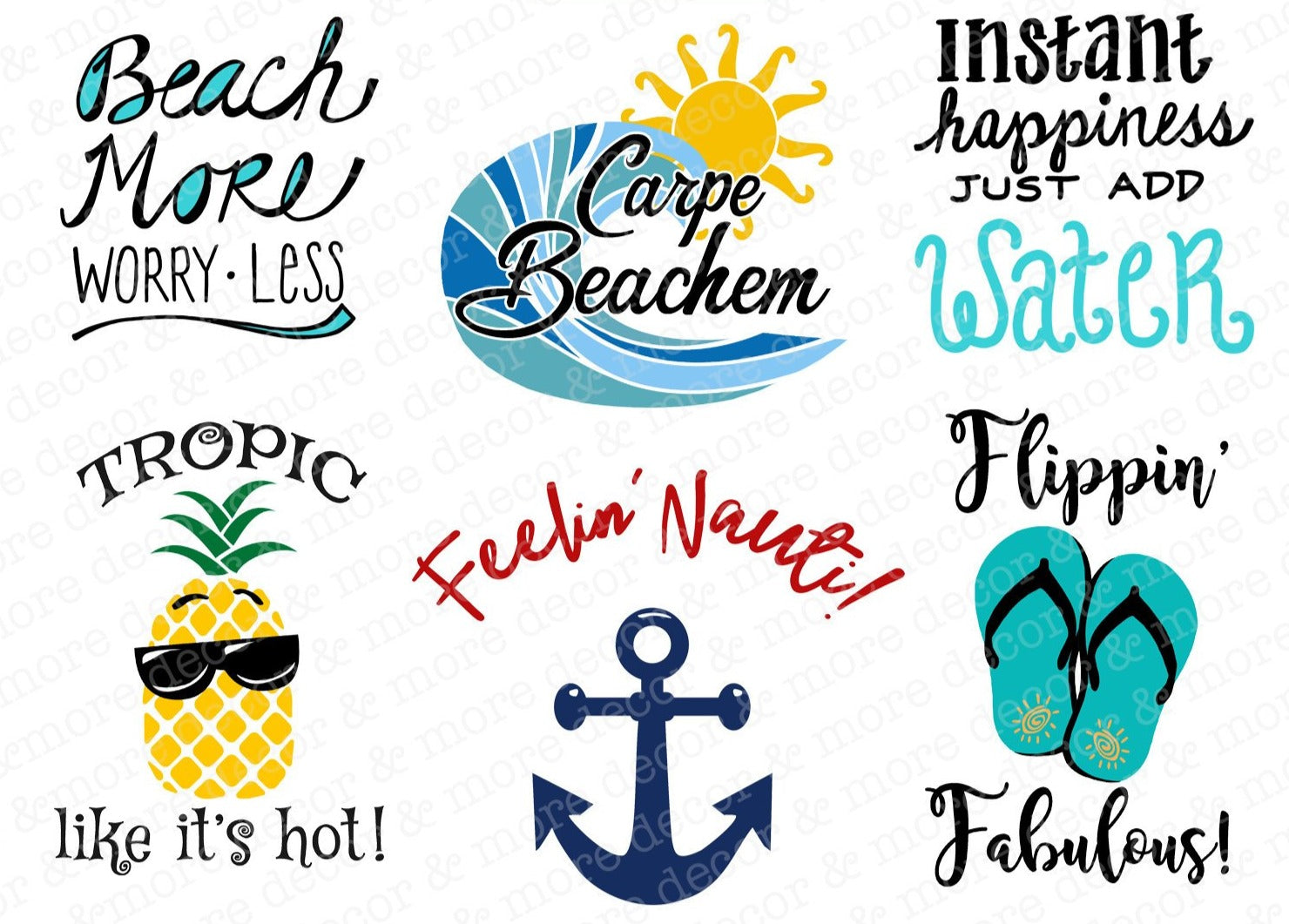 BEACH SVG FILE BUNDLE, Funny Beach SVG Files, Beach Saying SVG Files, Beach Quote SVG Files, Beach Shirt SVG Files