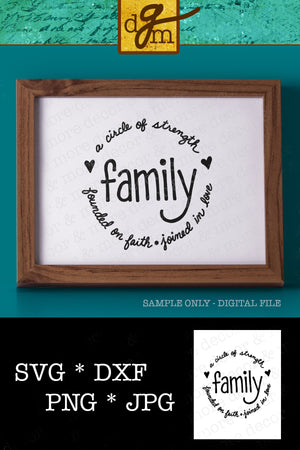 Family Saying SVG File, Family Sign SVG Saying, Rustic Wall Decor SVG, Family Quote Cut File, Svg Files for Cricut, Commercial Use Svg, Svg