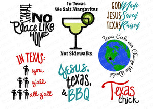 Texas Saying SVG Bundle, Funny Texas SVG File, Texas Quotes SVG File Bundle