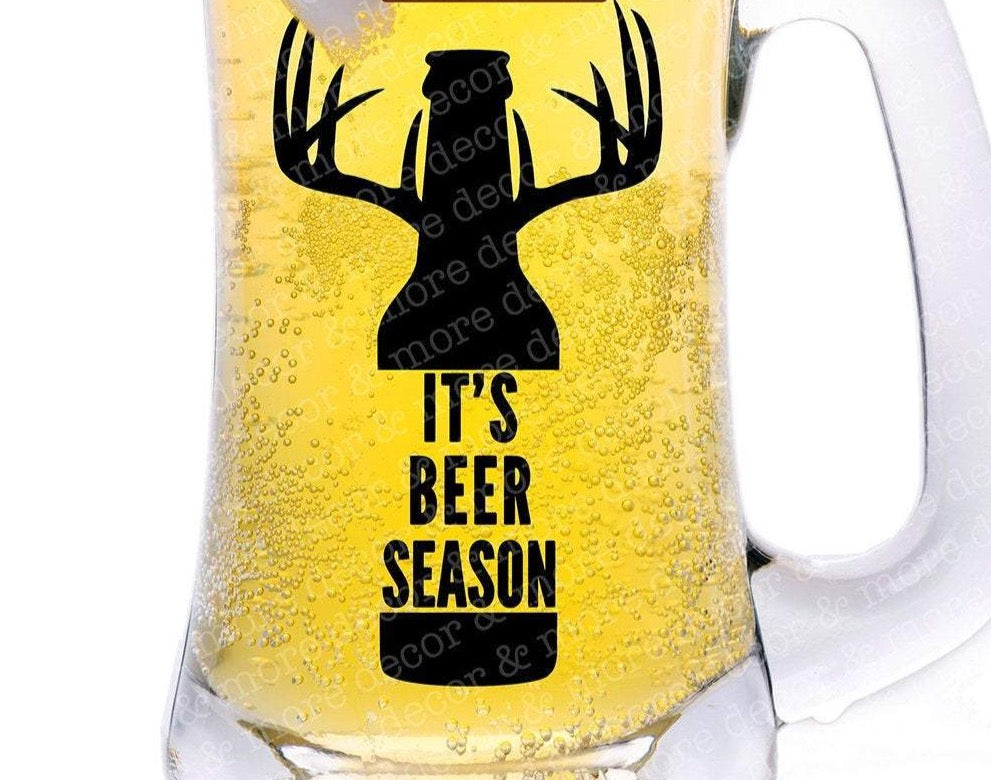 Beer Season SVG File, Beer SVG File, Deer Season SVG File, Deer Svg File, Svg Files for Cricut, Downloadable Svg File, Commercial Use Svg
